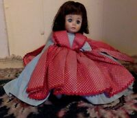 "Vintage doll. Madame Alexander Doll. Jo - Little Women. Blue Sleep Eyes. 12"". 19"