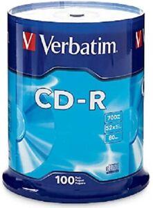 Verbatim CD-R 100 Stück