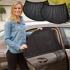 Car Rear Side Window Sun Visor Shade Mesh Cover Shield Sunshade UV Protector 2x