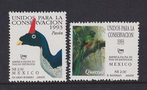 Mexico - 1993, America, Endangered Birds set - MNH - SG 2145/6
