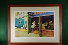 "Jeff MacNelly Print ""The Models Take a Break"" Signed Artist's Proof - Framed"