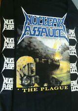 NUCLEAR ASSAULT-SHIRT THE PLAGUE DARK ANGEL SACRED REICH SURF NICARAGUA SOD
