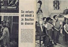 PUBLICITE ADVERTISING 094 1968 Josephine Baker et  Jo Bouillon   (2 pages)