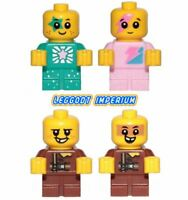 Lego Minifigures Babies - Sparkle / Sewer - pink turquoise Lego Movie 2