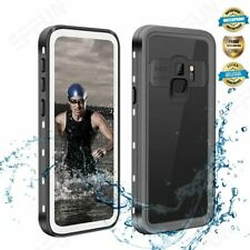 Samsung Galaxy S9 Waterproof Case Full Body Shockproof Screen Protector Cover US