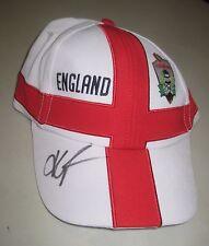Kevin Pietersen signed England Cricket Cap (White) +   COA.