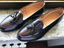 NEW💥Church's Keats💥Tassel loafer💥UK 9 F EU 43 Burgundy leather men shoes