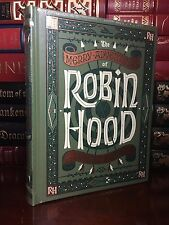 Merry Adventures of Robin Hood by H. Pyle New Sealed Leather Bound Collectible