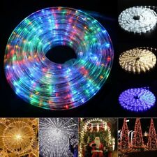 10M LED Rope Strip Light Xmas Tree Waterproof Wedding Lamps Birthday Christmas