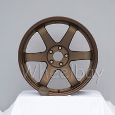 4 ROTA WHEEL GRID  18X9.5  5X114.3 20 SPEED BRONZE LAST SET