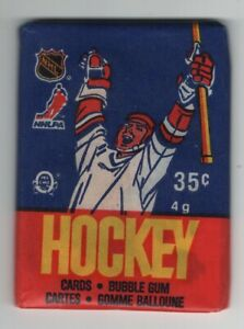 1986-87 Hockey OPC Unopened Wax Pack 100% Unsearch Great condition   79.99$