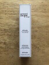 Philosophy Renewed Hope in a Jar Peeling Mousse 2.5oz *NIB* Fresh
