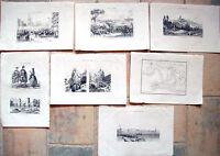 1836 NAPOLEONE NELLA SPAGNA DEL SUD CADICE LOXA LUQUE AEZOBISPO ALBUERA...