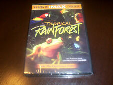 IMAX - TROPICAL RAINFOREST Birds Primates Insect Wildlife Forest Forests DVD NEW