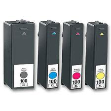 4x Druckerpatronen für Lexmark Interact S602 S605 S608