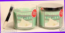 2 Jars Bath & Body Works BUTTERCREAM MINT 3-Wick Candle 14.5 oz HTF BLACK FRIDAY