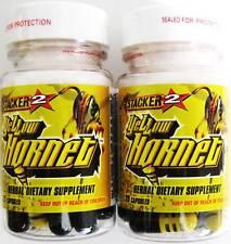 YELLOW HORNET STACKER 2 - 2 Bottles  20 capsules each