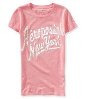 Aeropostale Graphic Women's Tee New York XS T-Shirt Pink + 25% off next order*