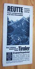 REUTTE - Tirol, Zugspitzgebiet # Reise-Werbung, Prospekt