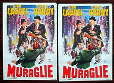 Carte postale Muraglie,Laurel et Hardy    ,CPSM