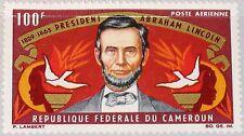 CAMEROUN KAMERUN 1965 424 C53 100th Death Ann Abraham Lincoln US President MNH