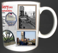 RUFFORD COLLIERY COAL MINE MUG LIMITED EDITION GIFT MINER RAINWORTH NOTTS PIT