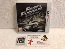 Jeu Vidéo Fast & Furious Showdown 3DS / 2DS Nintendo Capcom Activision Rare VOST