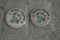 Vintage Pinbacks Buttons Official Chilihead Bring on the Pepto-Bismol Food