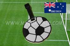 Soccer Ball Silicone Cartoon Travel Luggage Tag School/Sport Bag ID Name Tag