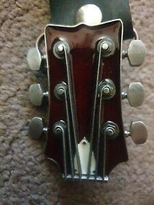 Vintage guitar stock Bergamot USA buckle 2004 metal