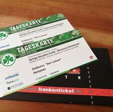2 Tickets Greuther Fürth - Borussia Dortmund DFB Pokal Block Lohner