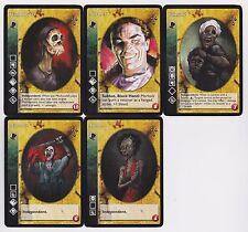 Samedi Crypt Lot G4 5x Vampires Heirs to the Blood/Legacies of Blood V:TES VTES