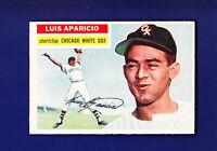 Luis Aparicio RC HOF 1956 Topps Baseball #292 (VGEX+) Chicago White Sox