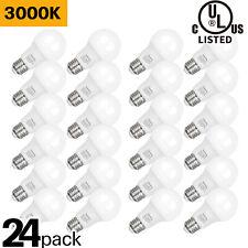 Hykolity 9W A19 LED Light Bulb 3000K Warm White 60W Equiv 800LM E26 UL 24 Pack