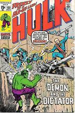 The Incredible Hulk Comic Book #133, Marvel Comics 1970 FINE+