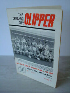 STOKE CITY v NOTTINGHAM FOREST - 1st Division 26/12/1968 - Exceptional Condition