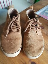 Gap Kids Boys Tan Suede Leather Boots Size 11