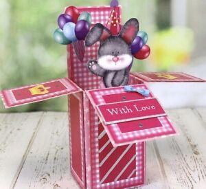 Kanban Part Kit - Pop Up Box Cards - Makes 9 Pop Up Cards