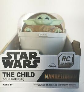 """STAR WARS Remote Control """"THE CHILD AND PRAM"""". HIGH SPEED FUN! BRAND NEW IN BOX!"""
