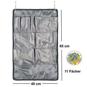 Camping Hänge-Organizer 11 Fächer 40 x 65 cm Tür Hänge-Regal Zelt Aufbewahrung