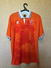 RARE HOLLAND NETHERLANDS NATIONAL TEAM 1995/1996 HOME FOOTBALL SHIRT JERSEY #9