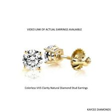 -100-carat-f-color-vvs-clarity-genuine-diamond-stud-earrings-in-14k-gold