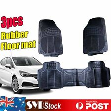 3 x All Season Rubber Auto Floor Mats Protector For Holden Astra Captiva Caprice