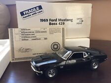 1969 Ford Mustang Boss 429 Danbury Mint 1:24 Black