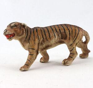alte Massefigur Tierfigur Tiger Raubkatze Großkatze Raubtier Afrika Tieger Zoo