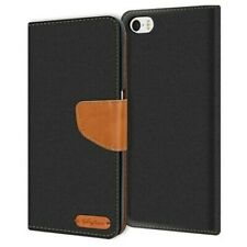 Case Apple IPHONE 5C Cover Wallet Flip Case Protective Cover Fabric Cover