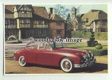 ad1176 - Jaguar 2.4 - MK11 - 1955 - Modern Advert Postcard