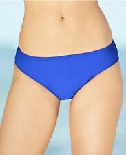 NWT NEW Island Escape Swim Shaper Bikini Bottom Blue Size 8