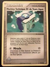 Carte Pokemon MACHINE TECHNIQUE 01 DE TEAM AQUA 79/95 Vs Team Magma FR NEUF