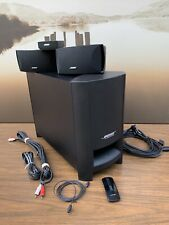 BOSE Cinemate  Series II Home Theater System -TESTED Sounds Great!
